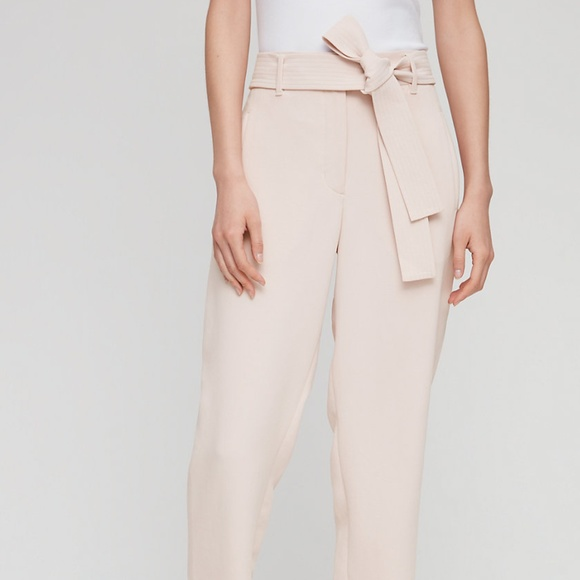 Aritzia Pants - Aritzia Wilfred Tie-Front Pant